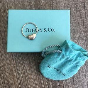Retired Tiffany & Co Elsa Peretti Silver Bean Ring